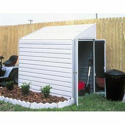 Arrow Yardsaver Compact Galvanized Steel Storage Shed with P